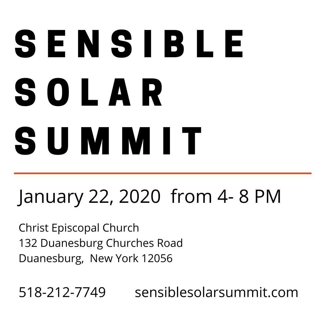Sensible Solar Summit